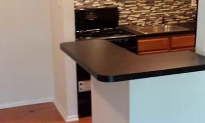 Kitchen, Parker Place, 1
