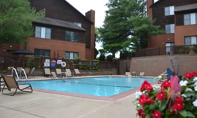 Pool, South Summit Apartments, 1