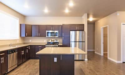 Kitchen, Pinecrest Apartments, 1