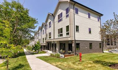 Building, bos Apartments, 1