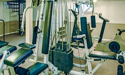 Fitness Weight Room, Warson Village Towne House Apartments, 2