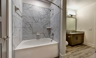Bathroom, Alleia Long Meadow Farms Apartments, 2