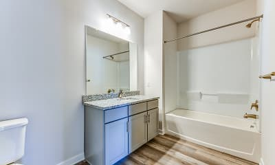 Bathroom, DREAM Lehigh Valley Apartments, 2