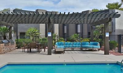 Pool, La Costa Apartment Homes at Dobson Ranch, 0