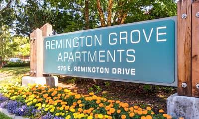 Community Signage, Remington Grove Apartments, 2