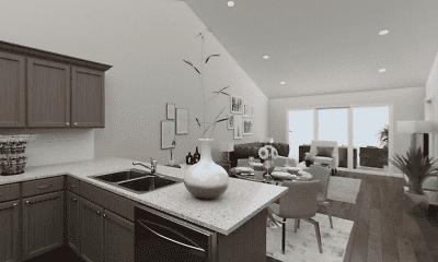 Kitchen, Horizon Pointe Villas, 1