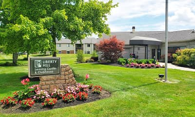 Community Signage, Liberty Hill, 1