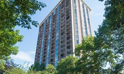 Building, New Haven Towers, 0