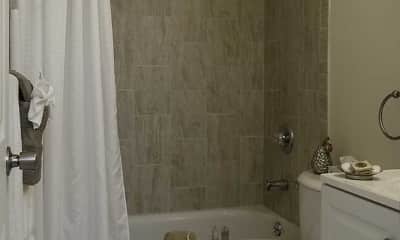 Bathroom, Newport Apartments, 2