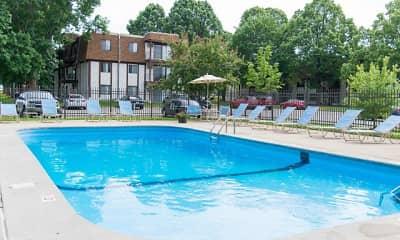 Pool, Lancaster Village, 1