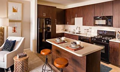 Kitchen, Avalon Wharton, 1