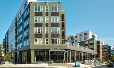 Building, Sorrento Apartments, 0