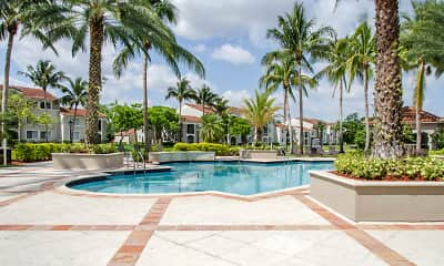 Pool, Miramar Lakes Apartments, 1