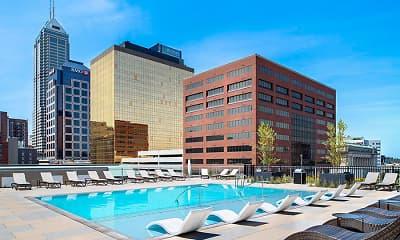 Pool, 360 Market Square, 1