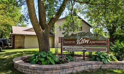 Community Signage, Seminole Valley Apartments, 0
