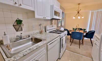 Kitchen, Brookdale at Mark Center, 0