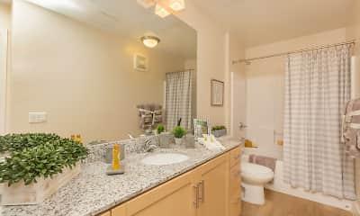 Bathroom, Mountain Trail Apartments, 2