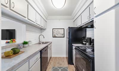 Kitchen, The Sapphire Resort Apartments, 2