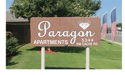 Community Signage, Paragon Apartments, 0
