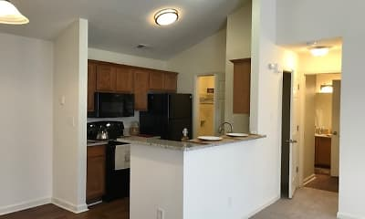 Kitchen, Huntersville Commons, 1
