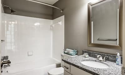 Bathroom, Calallen Apartments, 2