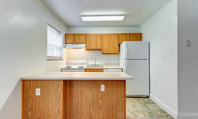 Kitchen, Pacific Highlands Apartments, 1