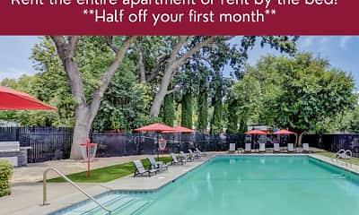 Pool, Gateway Apartments, 0
