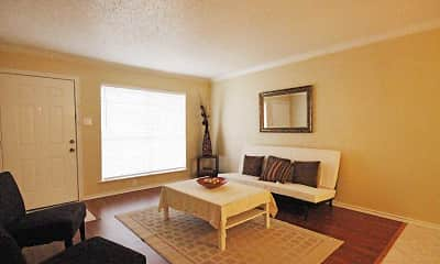 Living Room, Aspenwood Apartment Homes, 1