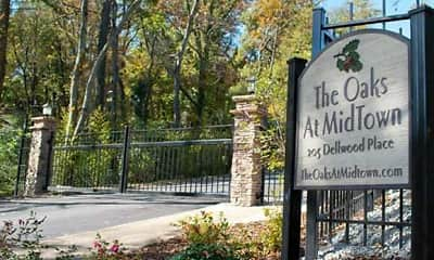 Community Signage, The Oaks At Midtown, 1