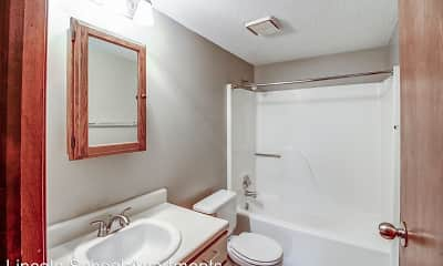 Bathroom, Lincoln School Apartments, 2