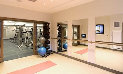 Fitness Weight Room, Griffin Center City, 2