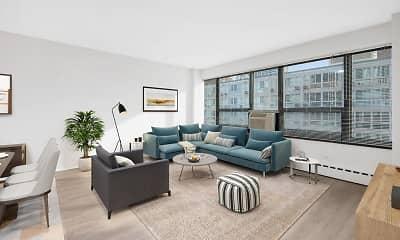 Living Room, 350 W. Oakdale, 0