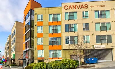 Building, Canvas Apartments, 0