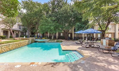 Pool, Willows on Rosemeade, 2
