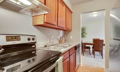 Kitchen, Avalon Apartments, 1