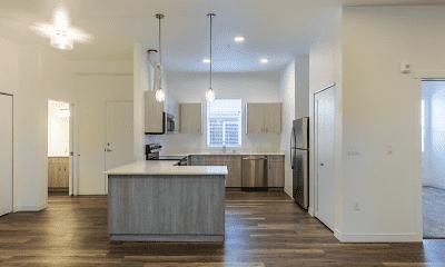 Kitchen, 134th Street Lofts, 0