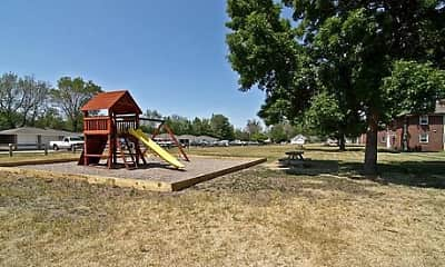 Playground, Creekside Apartments, 0