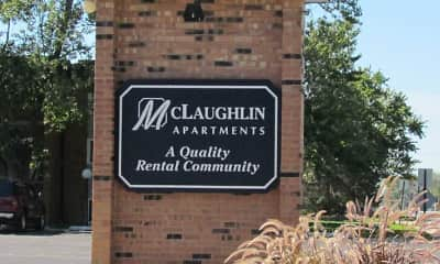 Community Signage, McLaughlin Apartments, 1