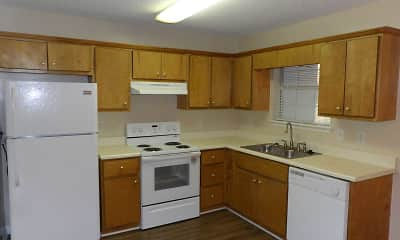 Kitchen, Lakeside Townhomes, 1