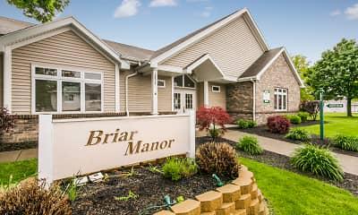 Community Signage, Briar Manor Apartments, 0
