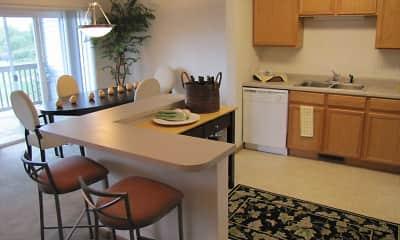 Kitchen, Cedar Villas Townhomes, 1