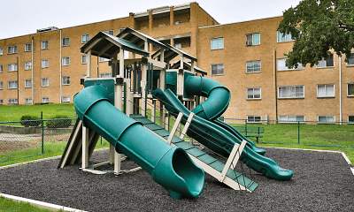 Playground, Oxford House Apartments, 1