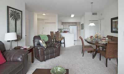 Living Room, Ocean Reef At Seawalk Pointe, 1
