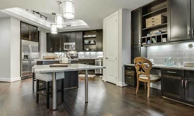 Kitchen, Apartments at Stone Oak, 1