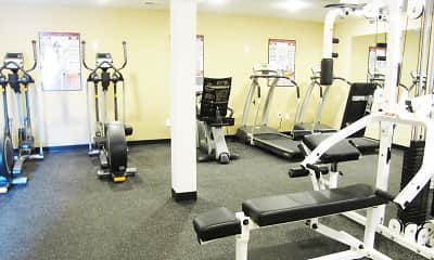 Fitness Weight Room, Northbury Colony, 2