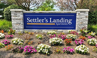 Community Signage, Settler's Landing, 2