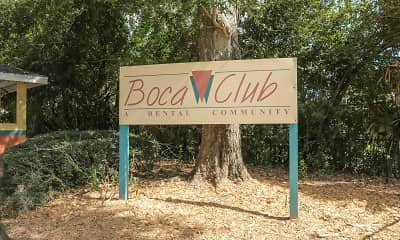 Community Signage, Boca Club Apartments, 2