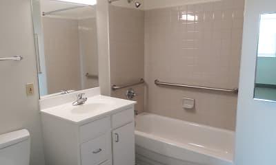 Bathroom, Jefferson School - 62+ Community, 2