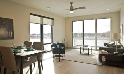 Dining Room, The Homes at Rivers Edge Apartments, 1