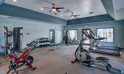 Fitness Weight Room, Lakeside on Riverwatch, 2